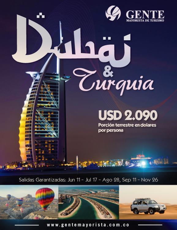 Dubai & Tierra Santa