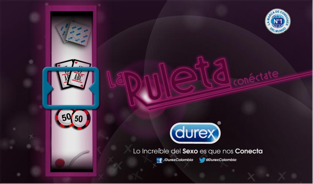 Ruleta Durex APP