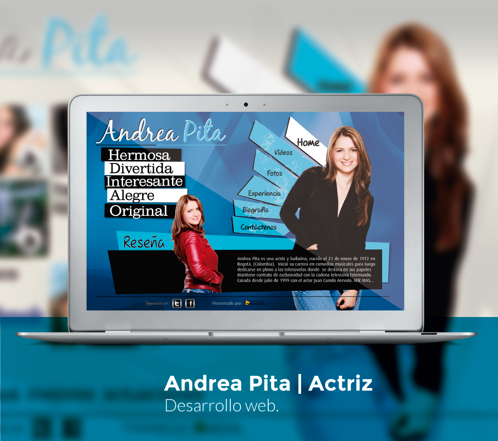 Andrea Pita Website