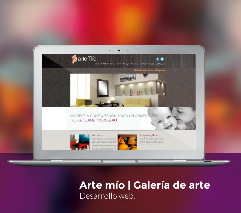 Arte Mío Website