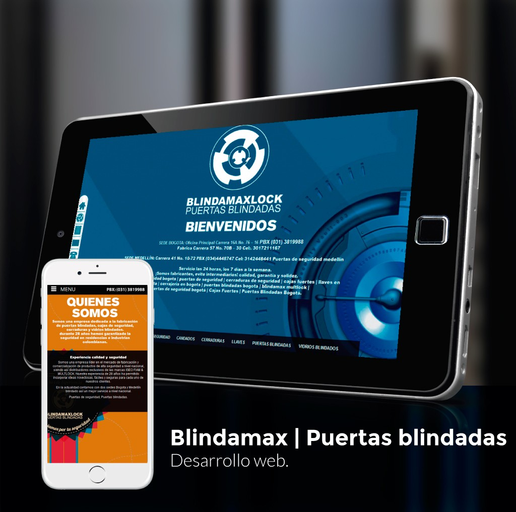 Blindamax Lock Website
