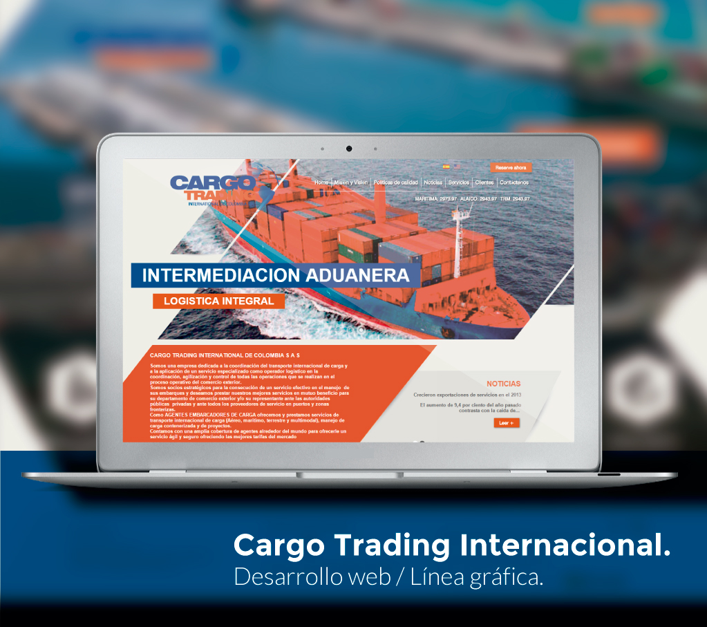 Cargo Trading Website