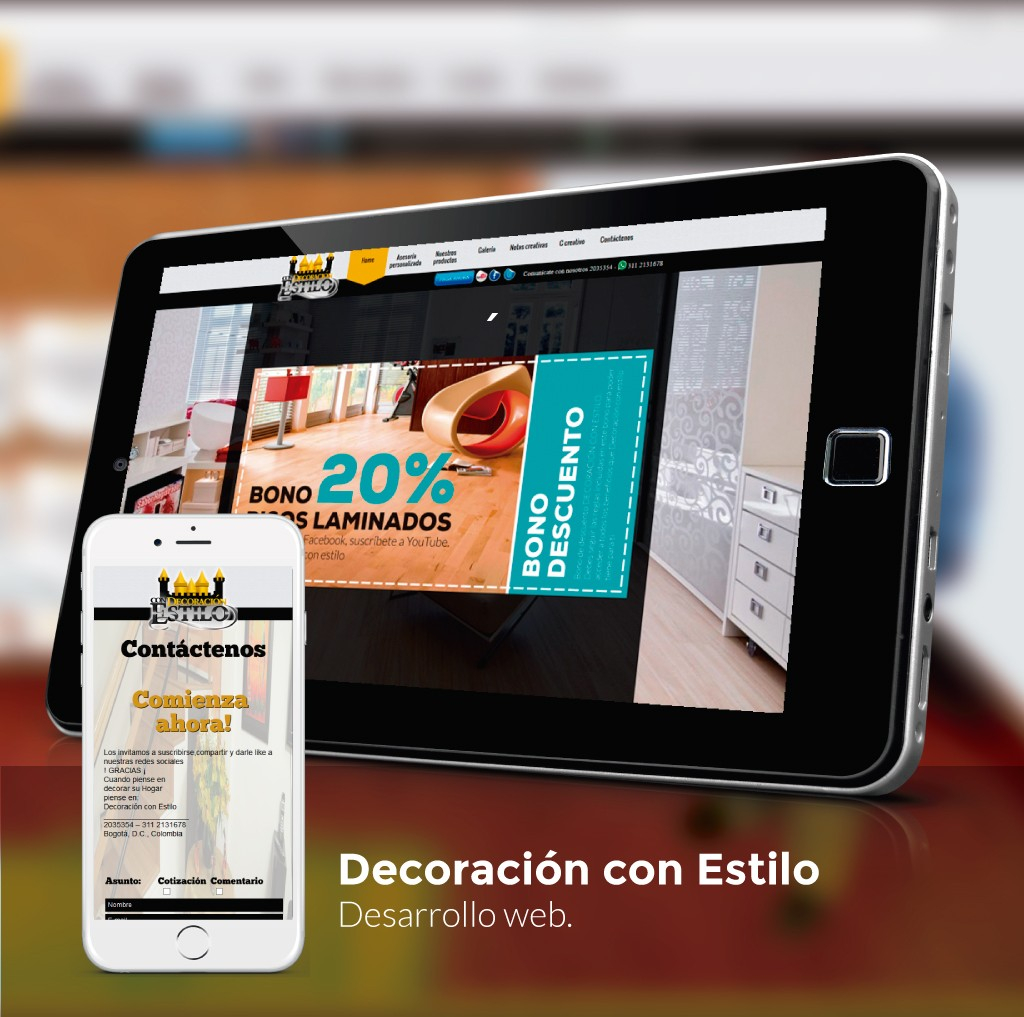 Decoración con Estilo Website
