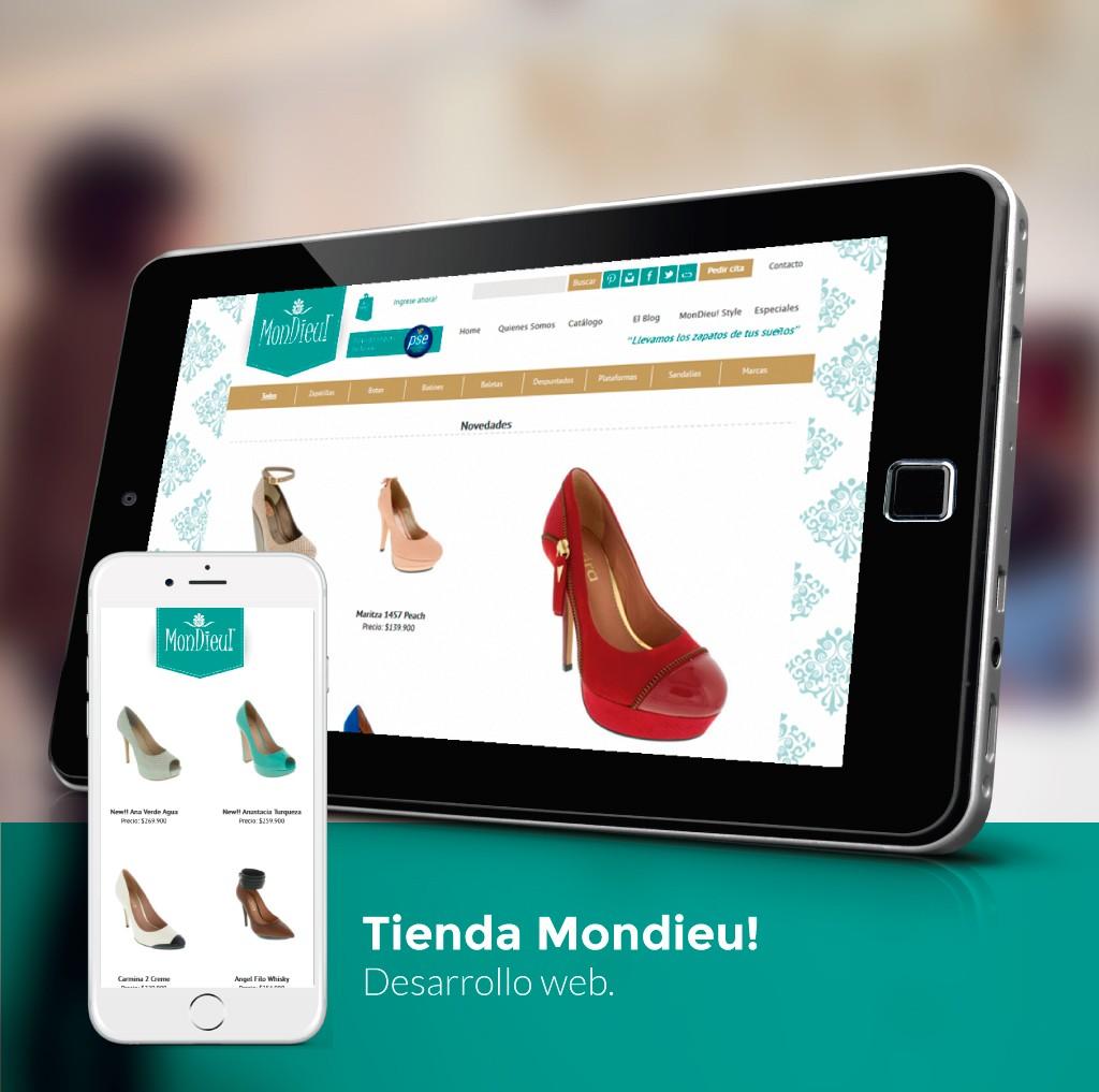 Mondieu! Website