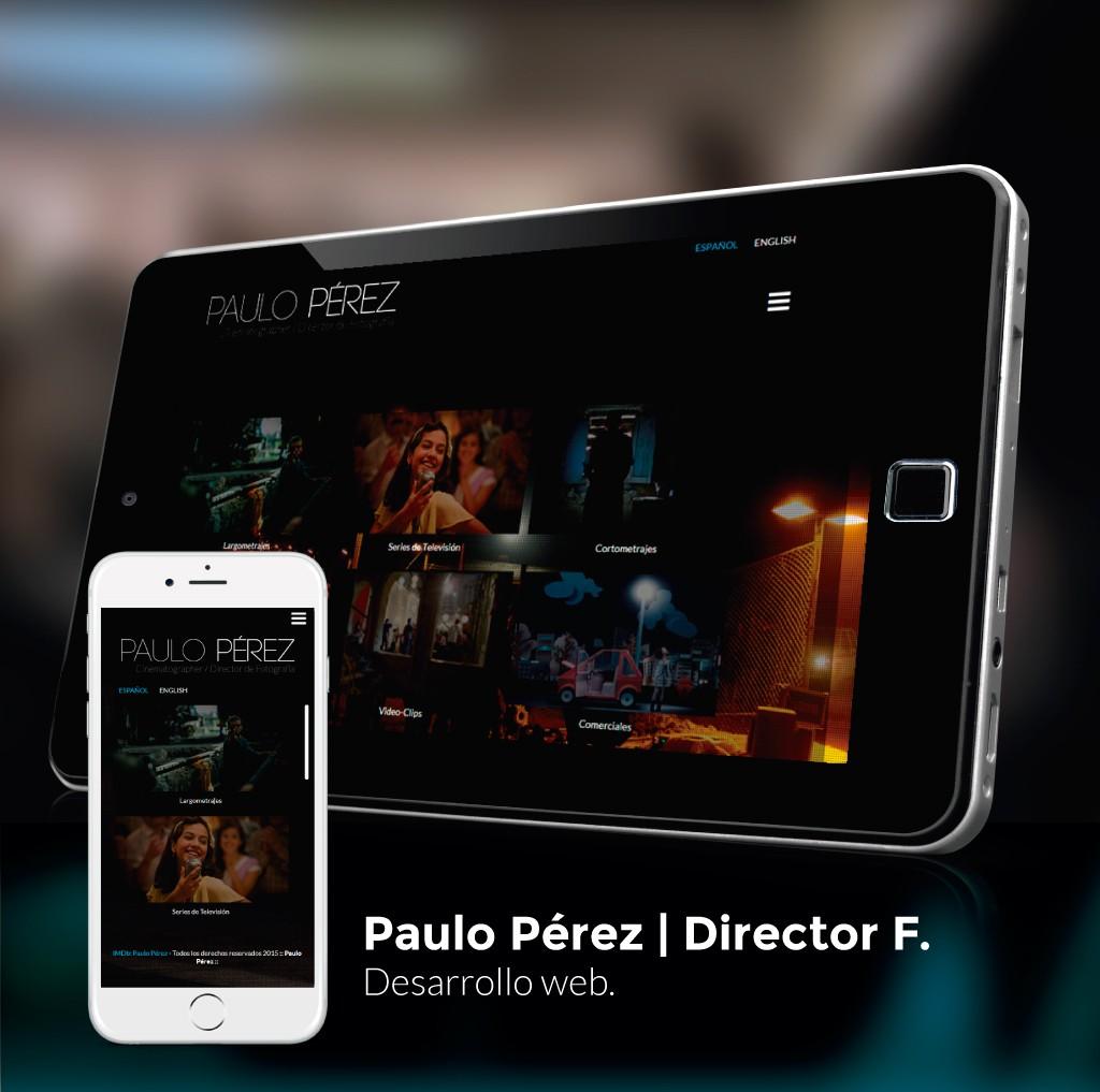 Paulo Pérez Website