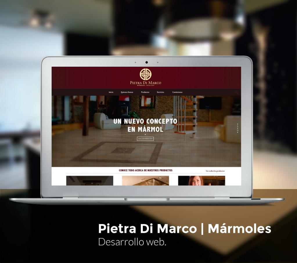 Pietra Di Marco Website