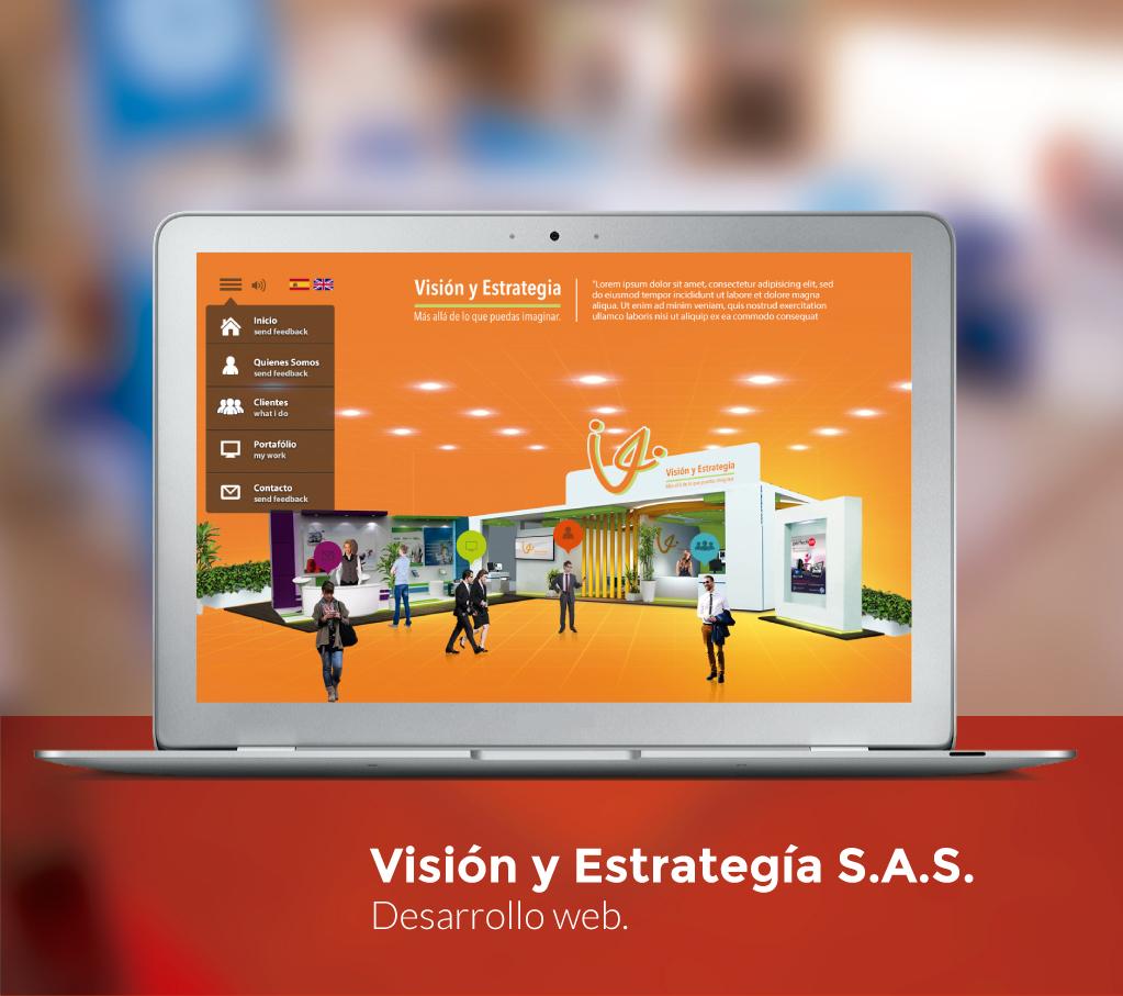 Visión y Estrategia Website