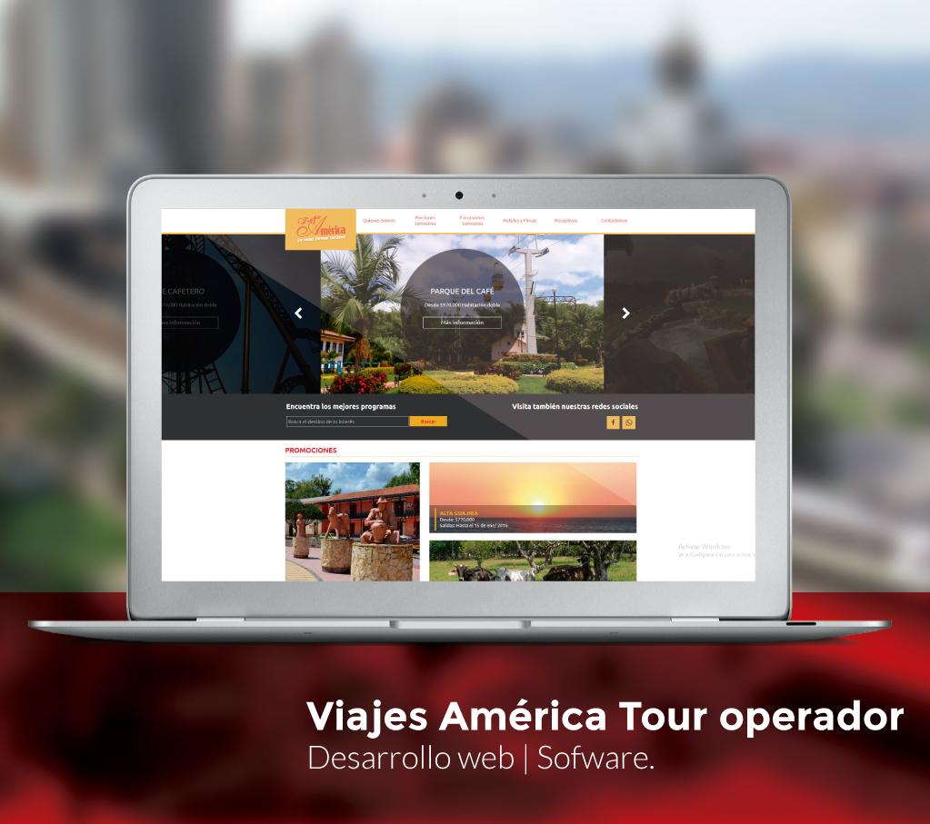 Web Viajes América