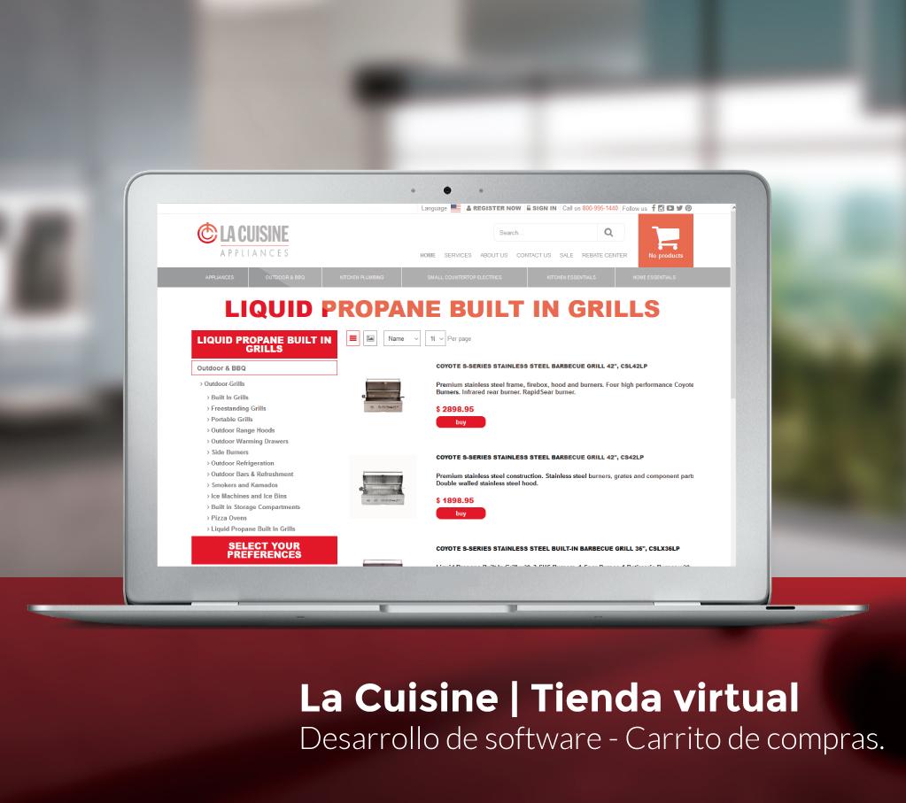 La Cuisine Website